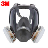 3M 6800 Full Facepiece Mask Size M with 6005 Gas Cartriges 7 pieces Suit R00987