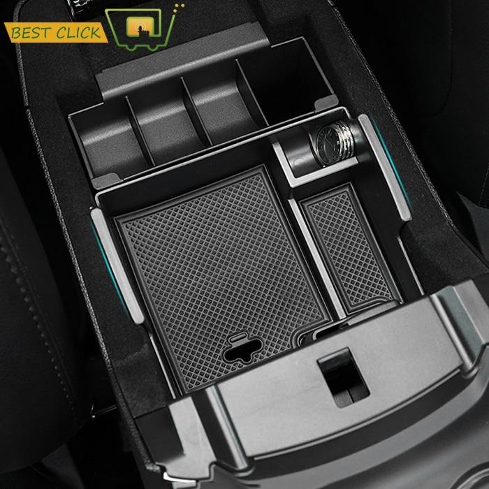 Armrest Storage Box For Ford Explorer 2011-2017 2018 Center Console Bin Glove Tray Holder Case 2012 2013 2014 2015 2016