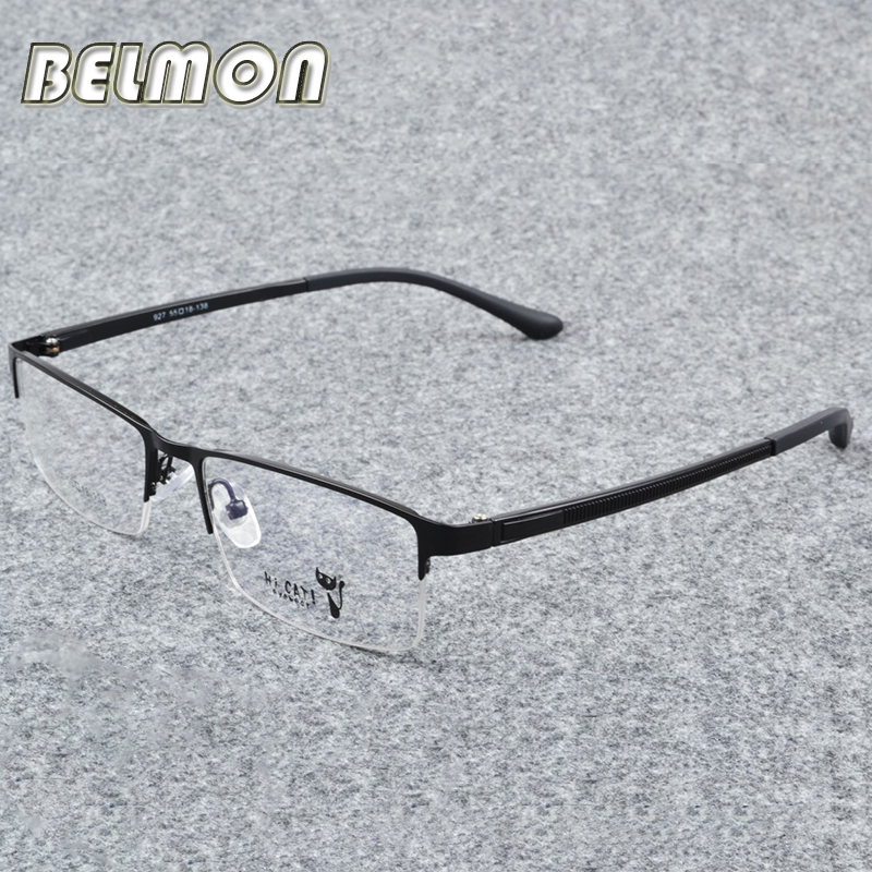 Belmon Spectacle Frame Men Eyeglasses Korean Computer Prescription Optical For Male Eyewear Clear Lens Eye Glasses RS310