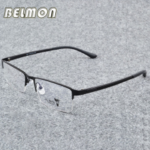 Belmon Spectacle Frame Men Eyeglasses Korean Computer Prescription Optical For Male Eyewear Clear Lens Eye Glasses Frame RS310 born new baby fit 18 inch 43cm clothes for doll blue pink red star with hairhand clothes accessories for baby birthday gift