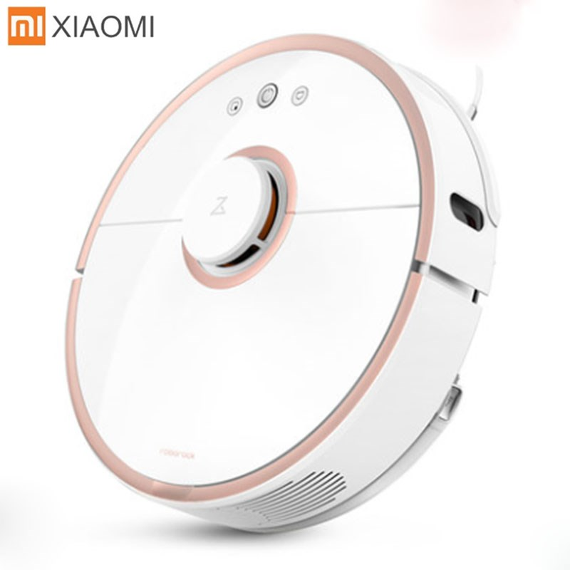 Xiaomi MI Roborock S50 S51 Robot Vacuum Cleaner 2 for Home Automatic Sweeping Dust Sterilize Smart Planned Washing Mopping New цена и фото