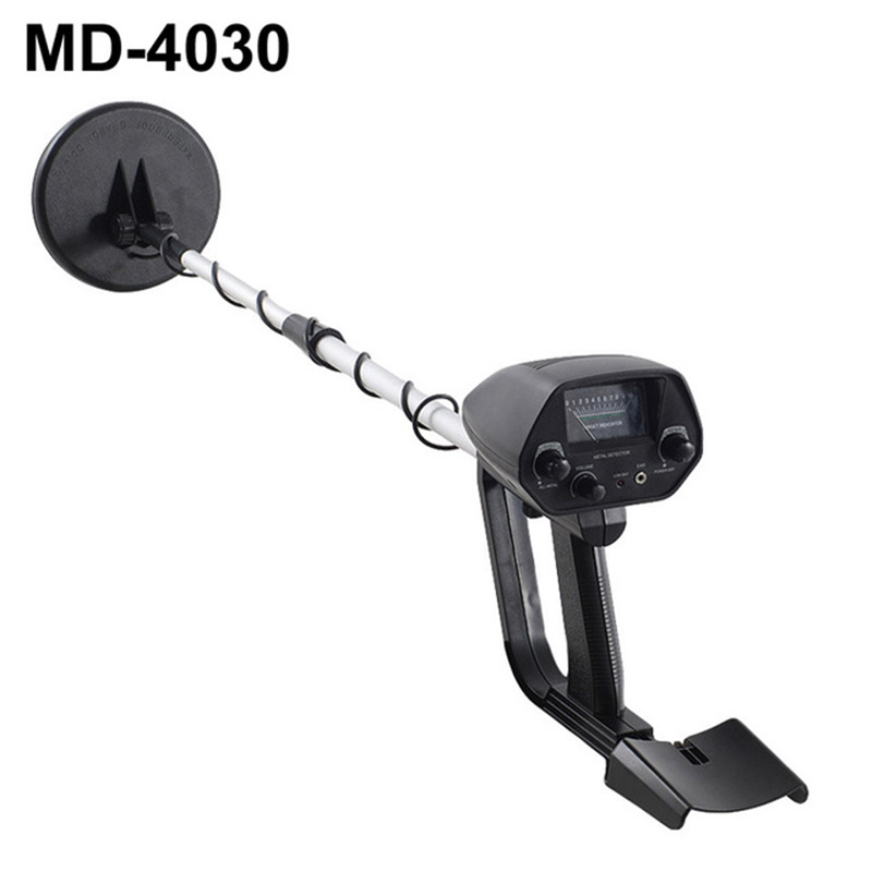 Металлоискатель с мелководной водой MD4030, Охотник с прожектором, водонепроницаемый, подземный