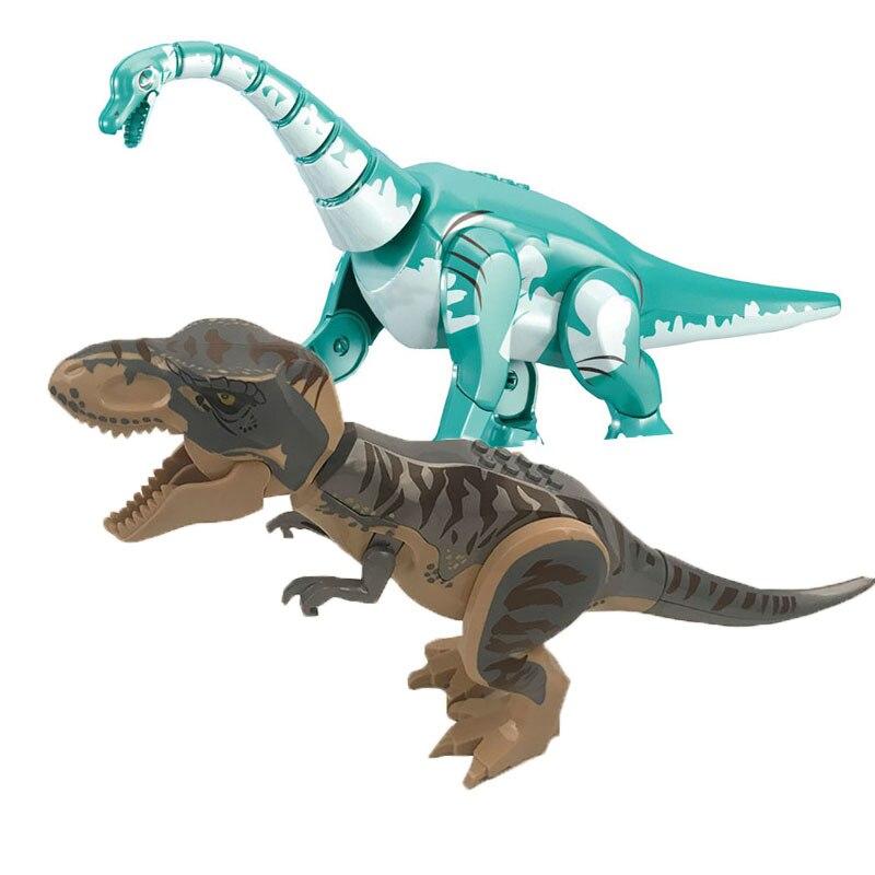 2019 New Jurassic World Park T Rex Baryonyx Dinosaur Figures Dino Building Blocks Bricks Compatible With Legoinglys Toys Boys