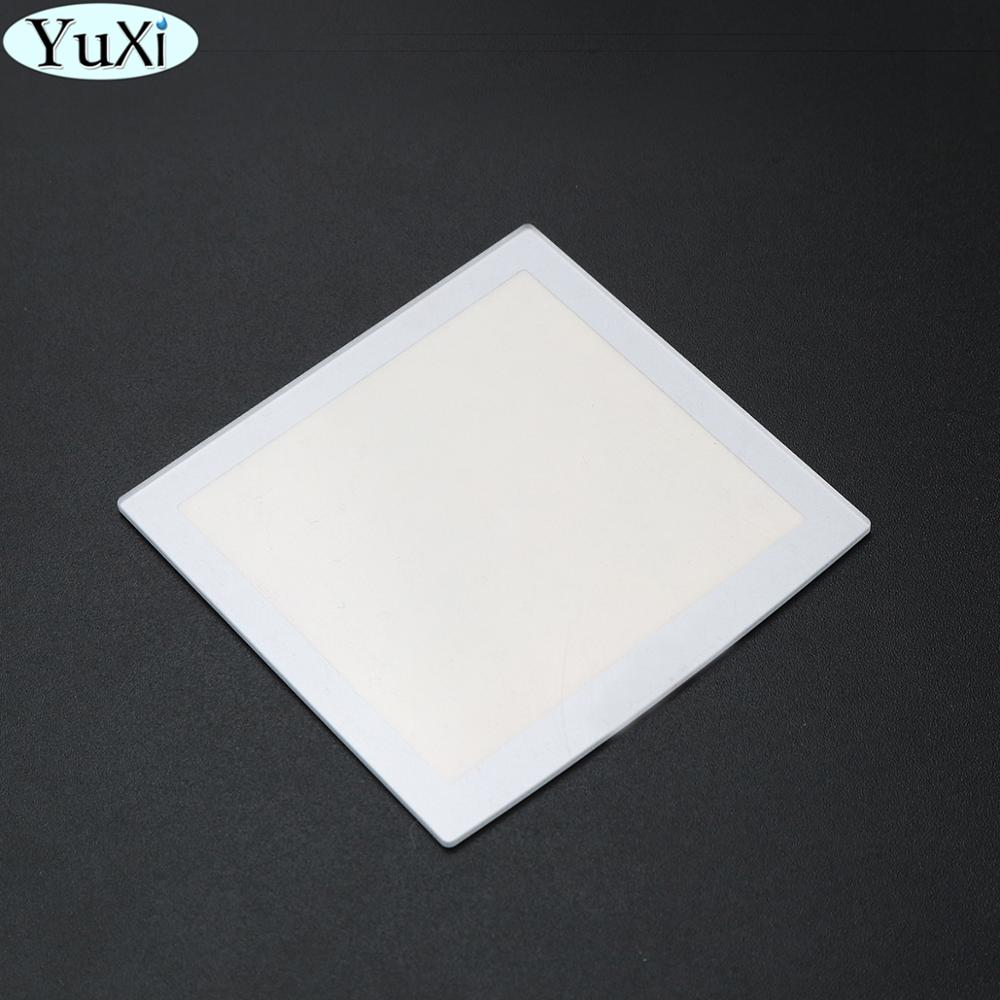 YuXi Plastic For NeoGeo Pocket Silver LCD Protective Screen Lens For NGP Lens Protector Replacement part(China)