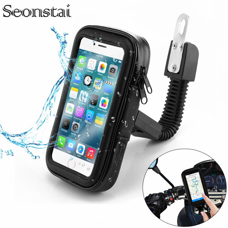 Bicycle Motorcycle <font><b>Phone</b></font> <font><b>Holder</b></font> Waterproof <font><b>Bike</b></font> <font><b>Phone</b></font> Case Bag for iPhone Xs Xr X 8 7 <font><b>Samsung</b></font> <font><b>S9</b></font> S8 S7 Scooter <font><b>Phone</b></font> <font><b>Holder</b></font> image