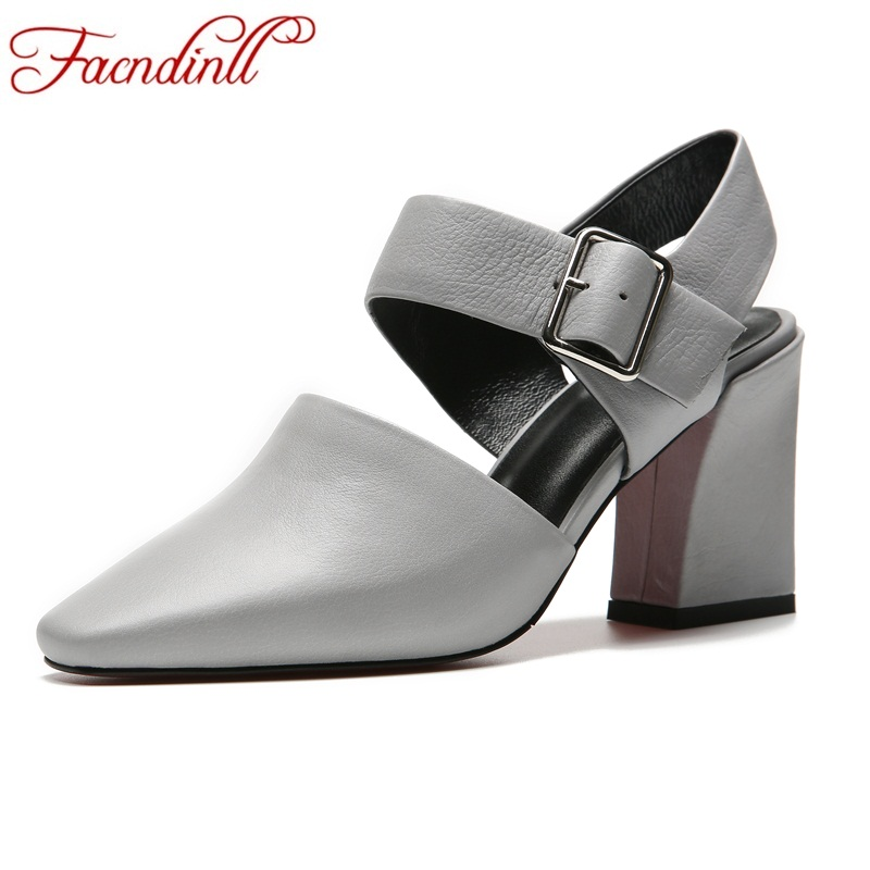 FACNDINLL brand women pumps shoes new fashion 2018 spring summer high heels shoes woman dress party office ladies pumps shoes new 2017 spring summer women shoes pointed toe high quality brand fashion womens flats ladies plus size 41 sweet flock t179