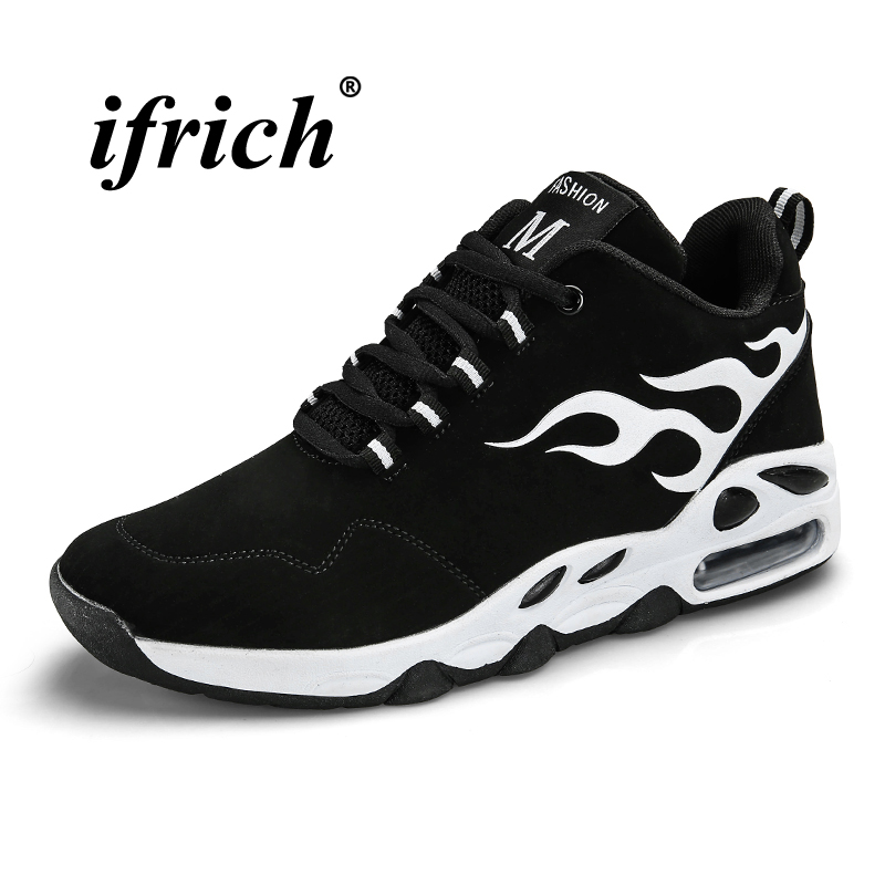 Man Running Shoes Air White Blue Designer Sneakers for Man Autumn Winter Athletic Footwear Male Non Slip Comfortable Trainers in Running Shoes from Sports Entertainment