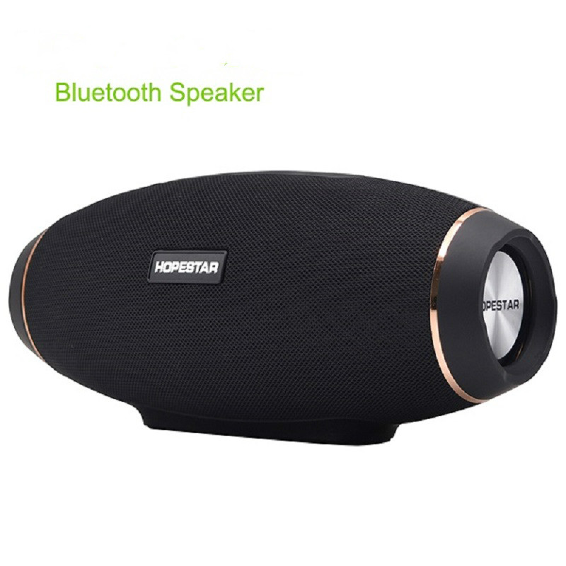 2017 hot Wireless portable Bluetooth 2.1 Speaker 20W Waterproof Outdoor Bass Effect with Power Bank USB AUX Mobile Computer TV a suit of stylish rhinestoned round hollow out necklace ring bracelet and earrings for women