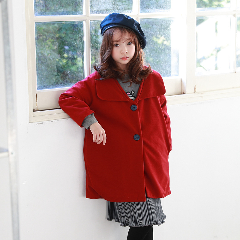 cotton padded teenage girls winter coat 10 years red autumn winter baby girl kids jackets for girls 8 6 7 years outerwear years