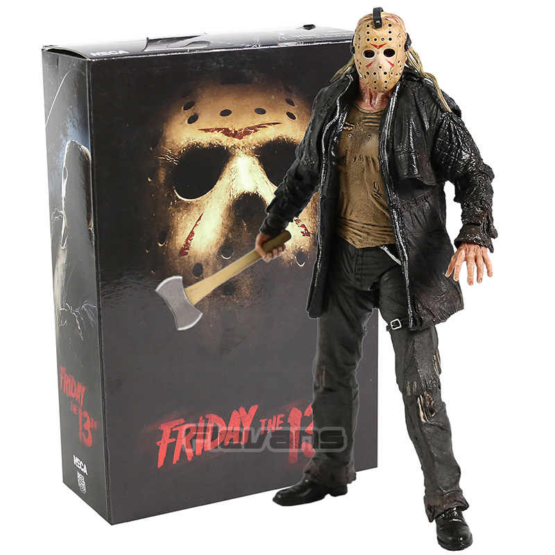 NECA Friday the 13th Ultieme Jason Voorhees 2009 Remake PVC Action Figure Collectible Model Toy