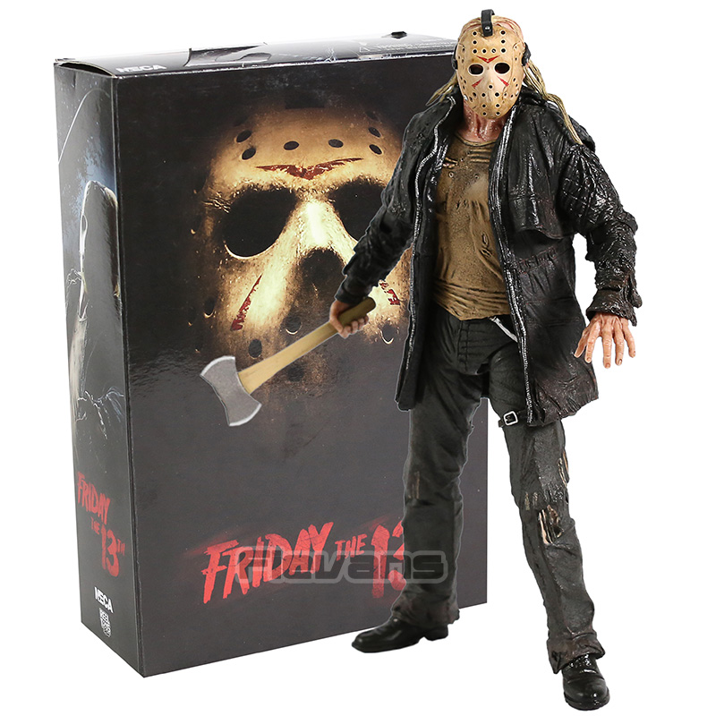 NECA Friday The 13th Ultimate Jason Voorhees 2009 Remake PVC Action Figure Collectible Model Toy
