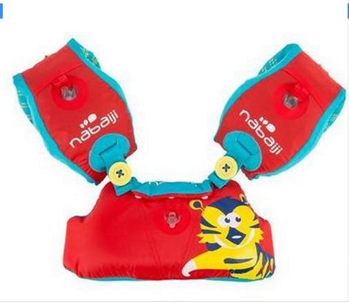 बच्चों के इन्फ्लेटेबल वेब्बी लर्निंग स्विमिंग उपकरण स्विम फ्लोटिंग बेबी रिंग लाइफ जैकेट्स + आर्म सर्कल स्लीव्स कॉम्बिनेशन