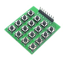 5pcs 4×4 Matrix 16 Keypad Keyboard Module 16 Button Mcu