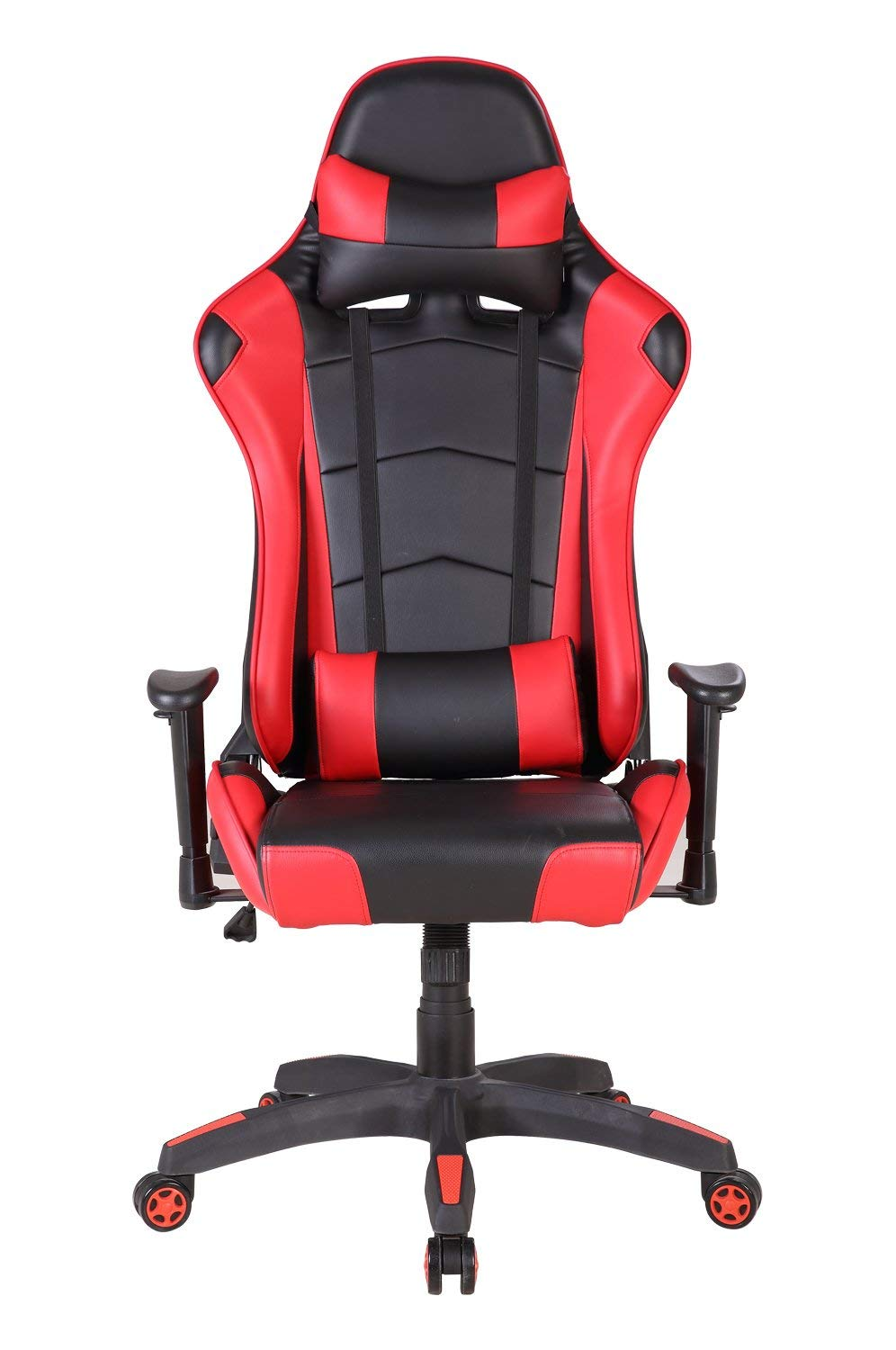 Racing Gaming Computer Executive Chair with High Back Reclining Tilt Office Chair Adjustable Lock PU Leather Swivel Task Chair