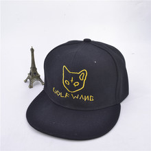 b9a8f5874746ec Tyler the creator combination golf wang embroidery baseball cap rock music  hat men and women hip
