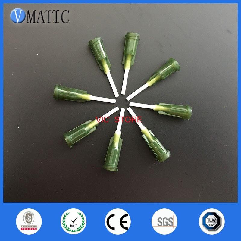 100 шт./лот 1/2 дюйма (0,5 '') x 14 г полипропилен Гибкая игла пластиковым наконечником; гарантированное качество