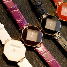 купить relojes mujer 2019 Brand Luxury Leather Watches Women Creative Ceramic Diamond Dial Fashion Casual Genuine Elegant Ladies Quartz недорого