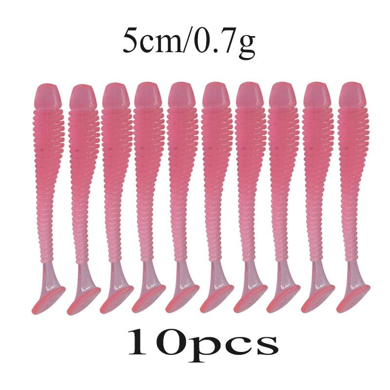 10-Pccs-lot-45mm-0-7g-Bal-k-l-k-Lures-wobblers-Minnow-Yumu-ak-Yemler
