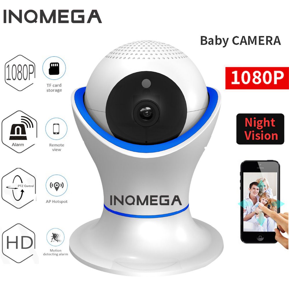 INQMEGA 1080P Security baby monitor IP Camera WiFi Home Security CCTV Camera with Night Vision Two Way Audio P2P Remote View howell wireless security hd 960p wifi ip camera p2p pan tilt motion detection video baby monitor 2 way audio and ir night vision