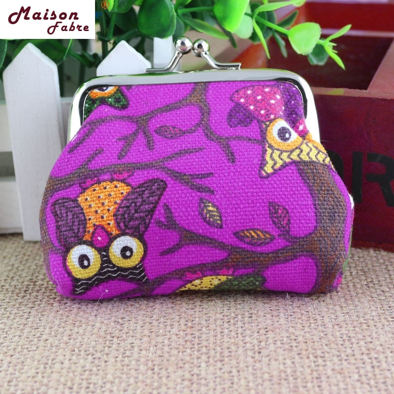Maison Fabre New Women Lovely Style Lady Small Wallet Hasp Owl Purse Clutch monederos 0323 drop shipping брюки котмаркот штанишки звездное небо