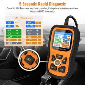 Image 3 - Autophix Om126P OBD2 Scanner Full OBD 2 Diagnostic Tool Engine Analyzer for EOBD JOBD OBD II Automotive Scanner Free Update