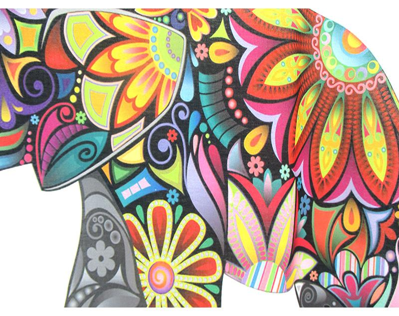 HTB1 UnkLVXXXXcwXpXXq6xXFXXXQ - New fashion Flower Elephant printed t shirts women summer tees