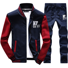 Men Jogging Suits Autumn Warm Mens Sports Set Male Gym Clothing Classic Embroidery Pattern High Quality Sweater Men Running Sets