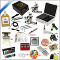 Complete Tattoo Kits 2 Tattoo Machines Gun7 Colors Tattoo Inks Sets Beginner Tattoo Kit TTKS-031