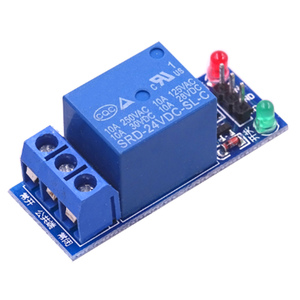 Image 5 - 50PCS 5V/12V/24V a basso livello di trigger One 1 Canale Modulo di Relè Scheda di interfaccia scudo Per Il PIC AVR DSP MCU per Arduino