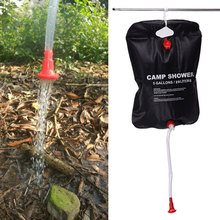 20L Solar Energy Heated Camp Shower Bag Outdoor Camping Hiking