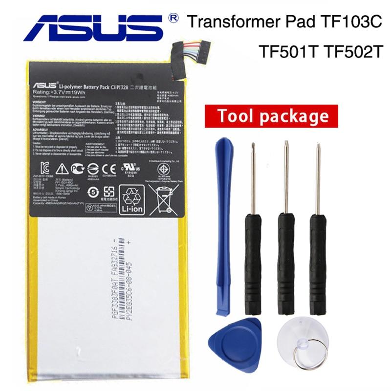 Original ASUS C11P1328 Battery For ASUS Transformer PAD TF103C TF103CX TF103CG K010 K018 4980mAhOriginal ASUS C11P1328 Battery For ASUS Transformer PAD TF103C TF103CX TF103CG K010 K018 4980mAh