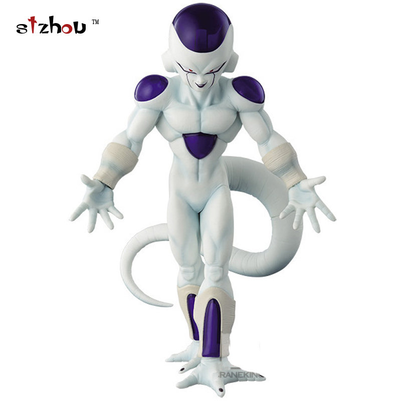 Dragon Ball Z Freeza Freezer Ultimate Form Anime Cartoon Combat Edition 19cm PVC Action Figure Collectible Toys #FB anime dragon ball z shf frieza freeza the final form pvc action figure collectible model kids toys doll free shipping