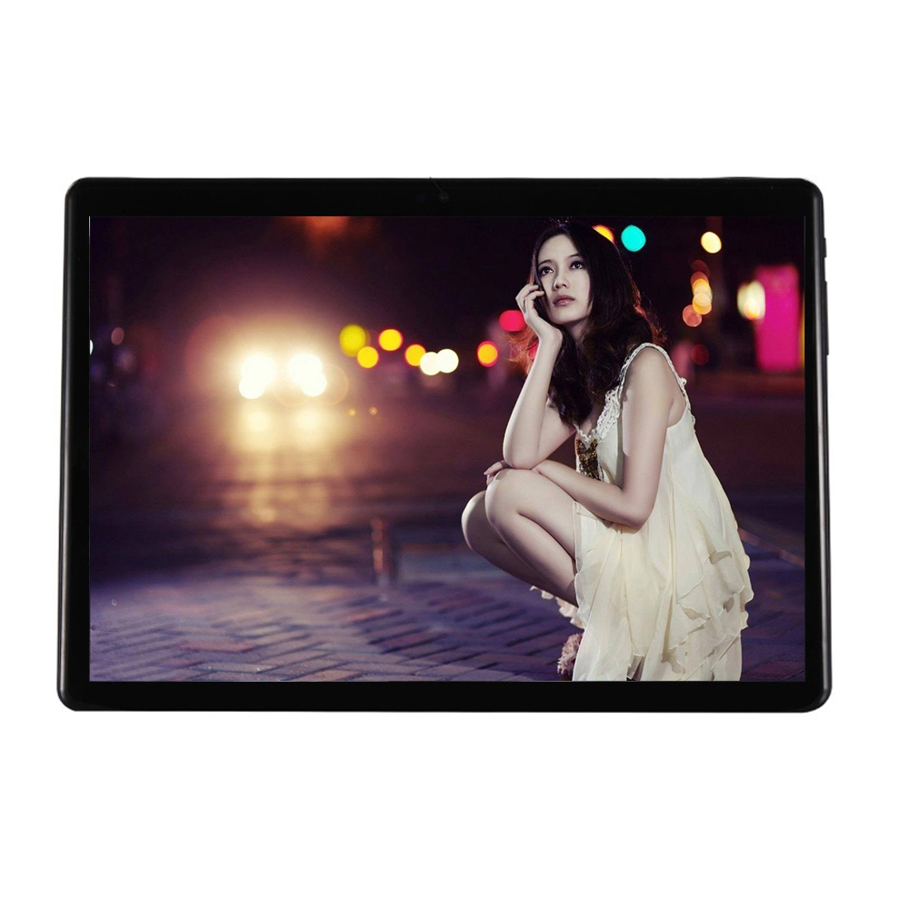 Free Shipping Android 7.0 Octa Core 10.1 Inch Tablet PC 4GB RAM 64GB ROM 5MP WIFI A-GPS 4G LTE 2.5D Tempered Glass IPS 1280*800