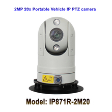 CCTV Security Safe City 1080P Vehicle 20x Optical Zoom Infrared Mini Portable Hd IP PTZ Camera For Government Bus Car Project