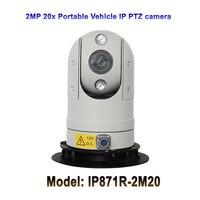Vender CCTV seguridad segura ciudad 1080P vehículo 20x Zoom óptico infrarrojo Mini portátil Hd IP PTZ cámara