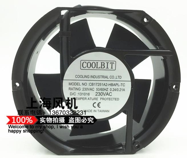 New Taiwan SUNTA220v NO; CB17251A2-HBAPL-TC 17CM high quality cooling fan new adda ad17248ub515bm0 17050 48v 17cm cooling fan
