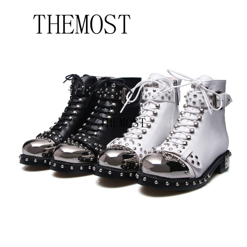 themost European and American latest leather fashion rivet motorcycle boots, lady boots, luxury fashion club women's shoes 2017the mostfashion trends european and american brands genuine flowers ladies luxury short shoes club sexy women s shoes