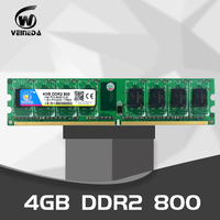 VEINEDA DDR2 4GB 800MHz PC2 6400 240Pin Memory Dimm ddr2 4 gb 667 PC5300 just For AMD Desktop Ram