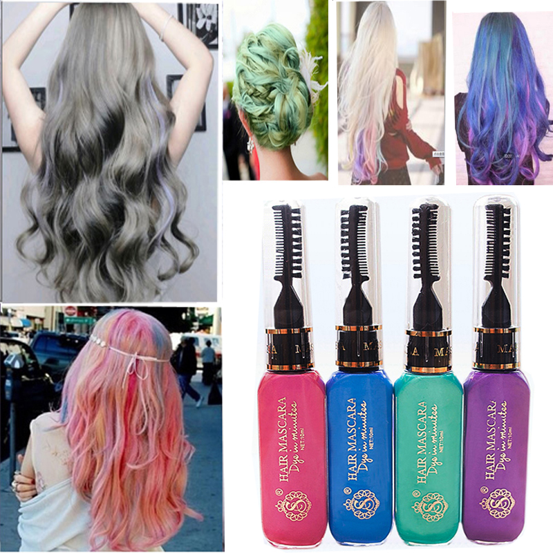 Hot New 10 Colors Gray Hair Color Professional Highlights