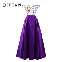 QI DIAN Party Dress Summer Dress 2018 Europe And The United States Spring And Summer New