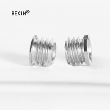 Camera conversion screw nut 1/4 to 3/8 mounting adapter for camera quick release plate tripod monopod