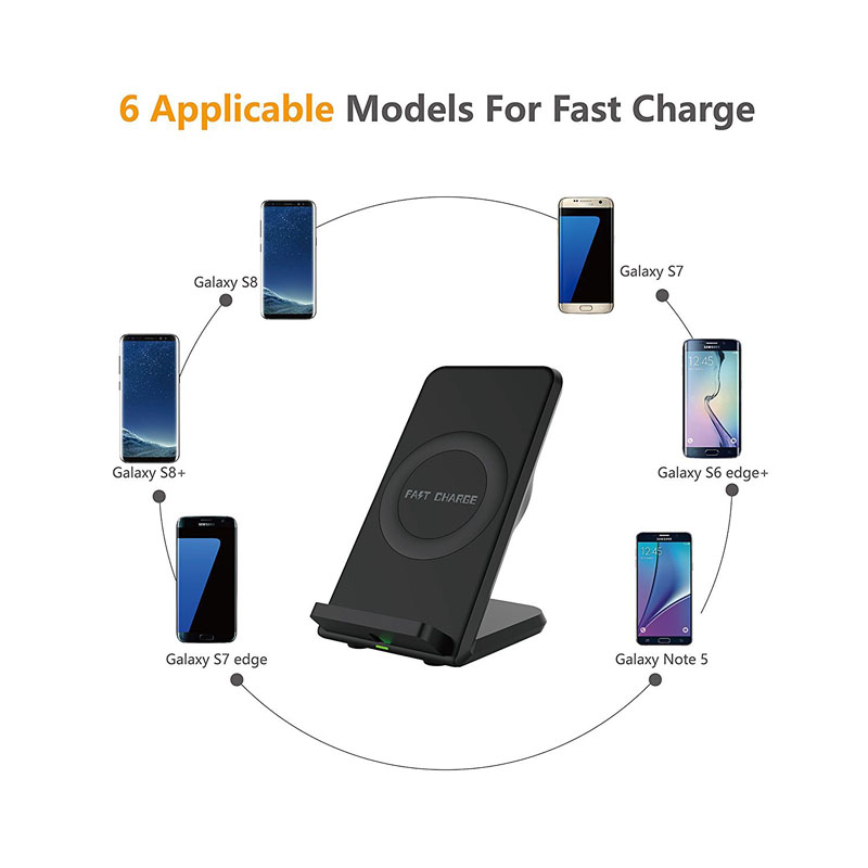 US $23 99 20% OFF|Qi Wireless Charger For iPhone X 8 Plus Cool Down Fast  Charging Holder For Samsung S8 Plus S7 S6 edge Note 8 Phone Fast Charger-in
