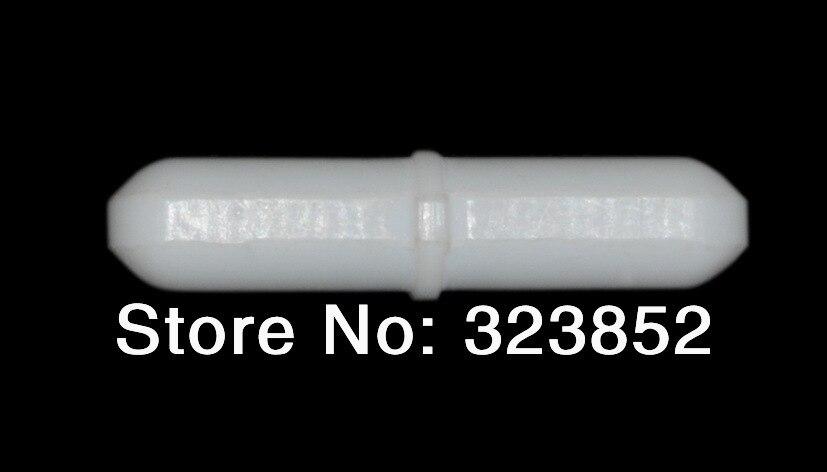 Ancoretta Dia10x60mm Teflon Ptfe Resina Rivestita. Perno Magnetici Canne Octagon-shaped. Stir Con Un Centro Modellato Anello Pacchetto 10