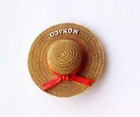 Rhodes Landscape Hat 3D Fridge Magnets Greece Tourism Souvenirs Refrigerator Magnetic Sticker Collection Home Decoration