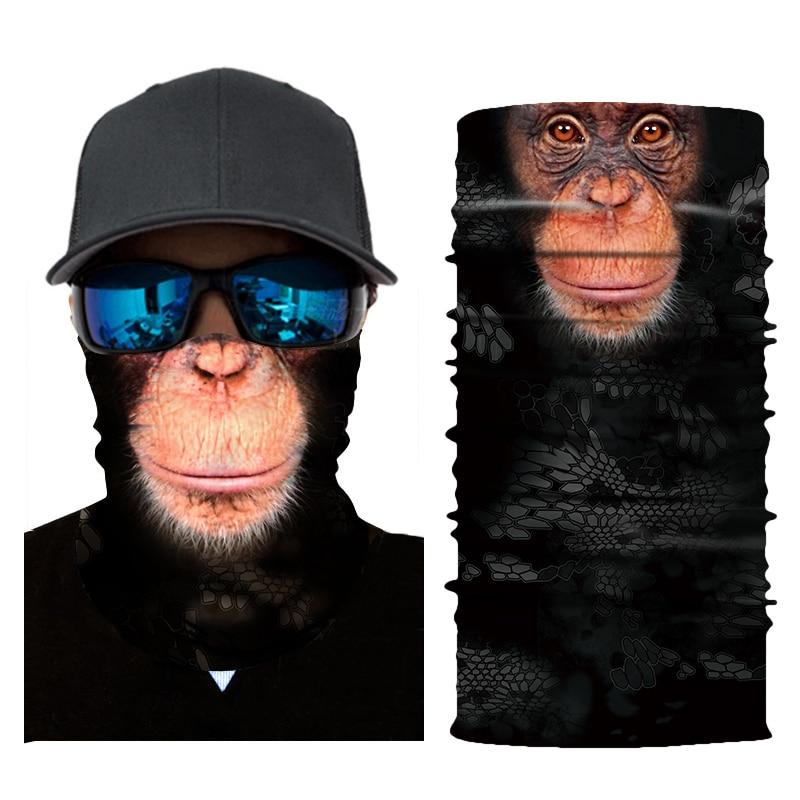 HEROBIKER Gesicht Maske Motorrad Tier Balaclava Gesicht Schild Reiten Maskerade Biker Maske Motorrad Halloween Pet Muster Masque
