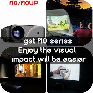 Image 4 - Vivibright F10 1280*720 LED Projektor Auflösung Unterstützung Full HD Home Cinema MINI Tragbare Proyector für 3D beamer HD proyector