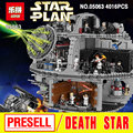 2017 Nuevo 4016 Unids Lepin 05063 Auténtica Estrella Guerra UCS Estrella de La Muerte Rogue Uno Conjunto de Bloques de Construcción Ladrillos de Juguetes Educativos 79159