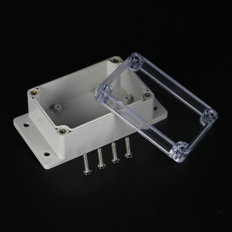 (1 piece/lot) 100*68*40mm Clear ABS Plastic IP65 Waterproof Enclosure PVC Junction Box Electronic Project Instrument Case 1 piece lot 160 110 90mm grey abs plastic ip65 waterproof enclosure pvc junction box electronic project instrument case