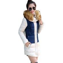 manteau femme winter jacket women coat parka womens jackets and coats abrigos y chaquetas mujer invierno 2015 parkas for Splice