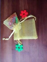 100 unids amarillo del regalo del organza bolsas 11×16 cm bolsos de fiesta para las mujeres evento casarse bolso de Lazo de Exhibición de La Joyería bolsa de Bolsa de accesorios de bricolaje
